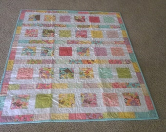 Baby Quilt Baby Girl Quilt