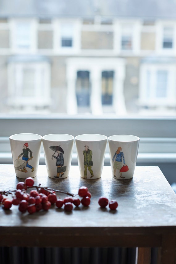 London character beakers