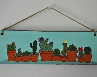 Cactus Garden - Wall Decor
