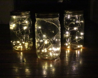 Mason Jar Twinkle Lights