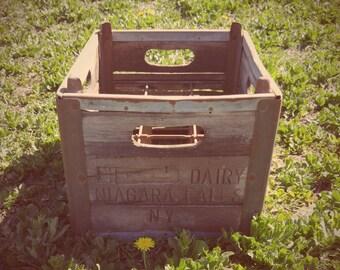 Antique MIlk Crate