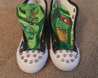 ninja turtle shoes custom