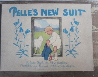 Pellets New Suit Vintage Children's Book Elsa beskow