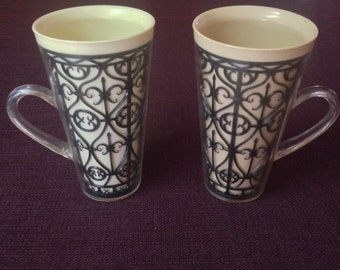 1960's-70's Cup Set