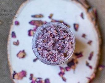 Rose Sugar Scrub | Sugar Scrub | Rose Geranium Scrub | All Natural Scrub