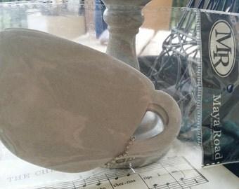 6 piece tea cup maya road chipboard album