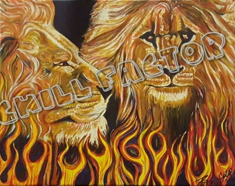 Lions In The Fire