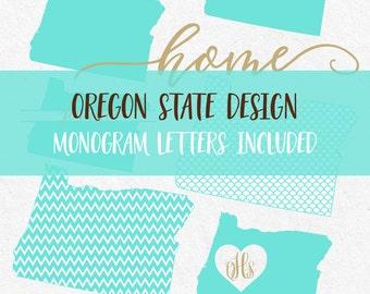 Oregon State Svg Cricut svg Silhouette svg designs state outline png dxf svg bundle tee svg clipart cutting files monogram font svg font