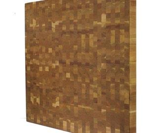 Kobi Blocks Maple End Grain Butcher Block Wood Cutting Board  KCB108-M-28-18-2