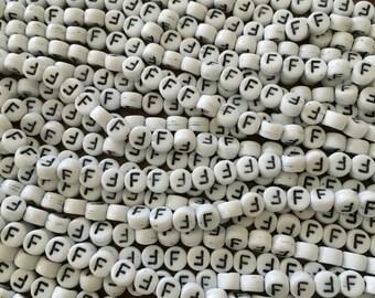 F Alphabet Bead (1000)
