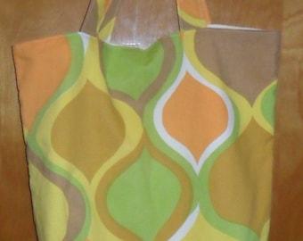 Upcycled Pillowcase Tote Bag