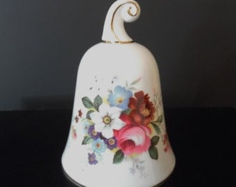 """Royal Albert Bone China ~ Bells of the World ~ Made for Danbury Mint ~ 4"""" tall  3"""" wide"""