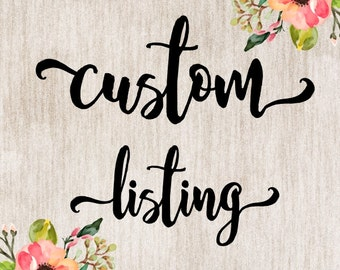Custom set