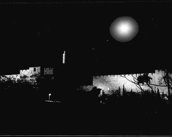 Jerusalem Old City, Western Wall,  Scenic Israel Photographic Art, Old City Photograph