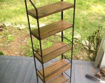 Steel and Oak shelving. ANY DIMENSIONS