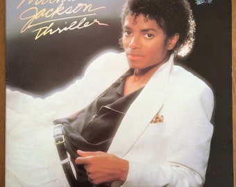 Michael Jackson 'Thriller' LP 1982