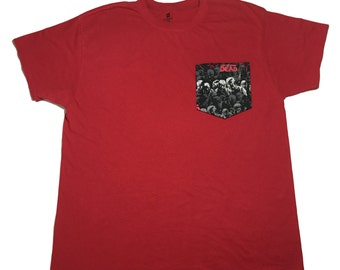 Zombie Pocket Shirt, Walking Dead, Star Wars, Sports