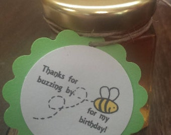 Birthday Honey Party Favors
