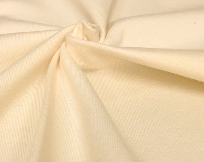 Organic Cotton Jersey Knit Fabric With Spandex