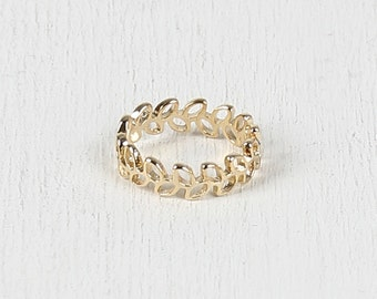 Ivy Vine Ring - Gold
