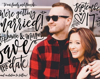 Wedding Save the Dates - Personalized Template