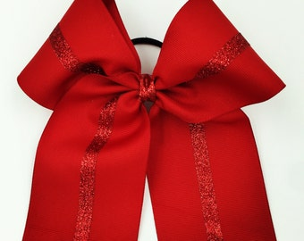 Red on Red Bow.
