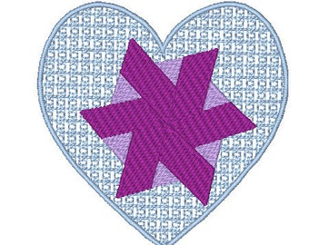 """FSL Lace and Applique Hearts  ( 8 """"Free Standing Lace"""" AND 8 Applique Machine Embroidery Designs from ATW )"""