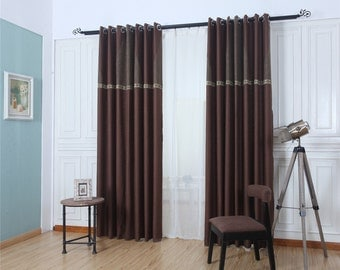 Brown curtains,curtains for living room,curtains,sheer curtains,kitchen curtains,window curtain living room,window curtain