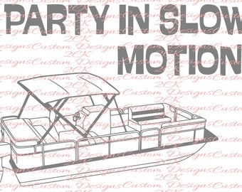 Party in slow motion SVG