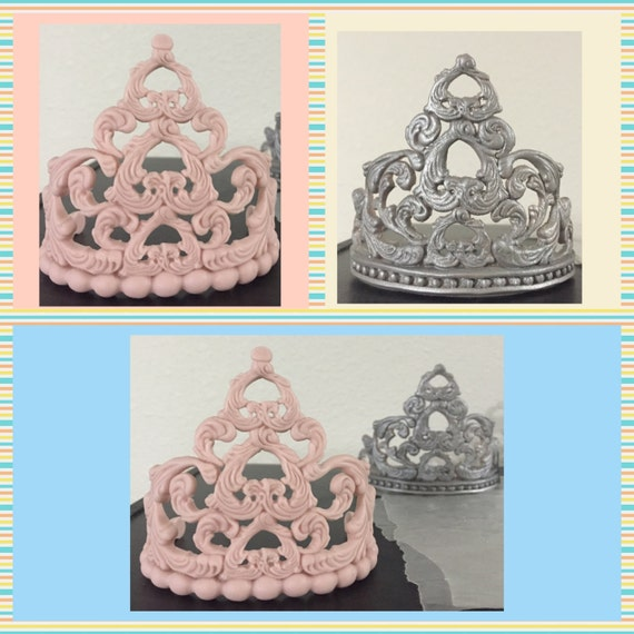 Edible Tiara Cake Topper by Bbcaketoppers on Etsy