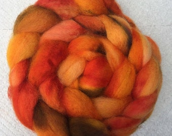 Blue-Faced Leicester Wool, Hand-dyed, 4 oz.