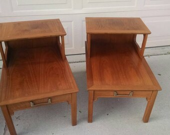 Beautiful Henredon French Provincial end tables