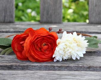 Ranunculus Flower Crown