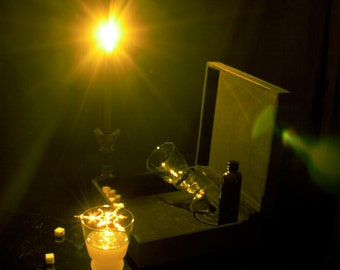 Candlelit Absinthe Photo Print