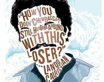 Famous Hair / Lines: Lando Calrissian