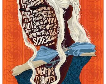 Famous Hair / Lines; Daenerys Targaryen