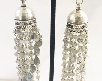 Laborite  Chandelier Bead Earrings
