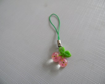 Resin Cherries charm for planners, journals, cell phones ect.