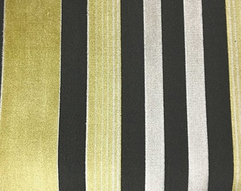 Upholstery Fabric - Richmond - Sunny - Cut Velvet Home Decor Upholstery & Drapery Fabric by the Yard - Available in 12 Colors