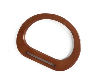 Wooden handle oak (H0007)
