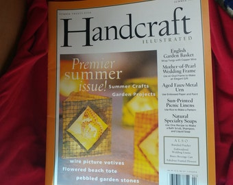 HANDCRAFT Magazine back issue Summer 1999 great shape