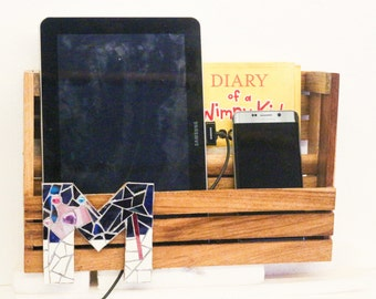 Bed Side Gadget and Book Organizer