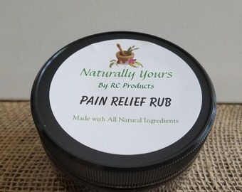 Naturally Yours Pain Relief Rub