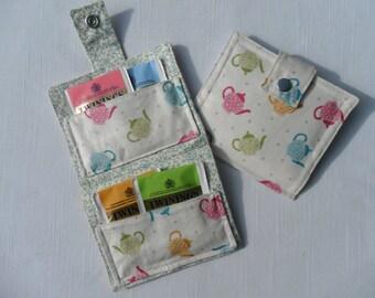 Handmade Tea Bag Wallet
