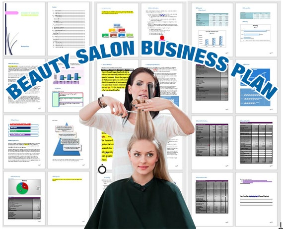 Beauty salon business plan by businessplans on etsy for A beauty salon business plan