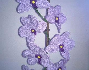 Crochet Flower-crochet Orchid