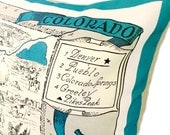 Colorado Pillow Cover with Insert