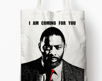Luther Tote Bag idris elba coming