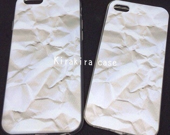 Wrinkled Paper TPU Case iPhone5/5s, iPhone6/6s