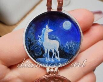 Last the last Unicorn unicorn pendant pendant